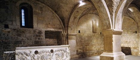 Brescia, the monastic complex of San Salvatore and Santa Giulia, Church of San Salvatore, crypt
