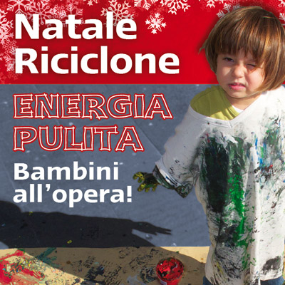 natale riciclone a Roma