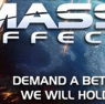 mass effect, particolare per testata